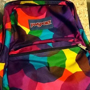 Colorful Jansport Backpack
